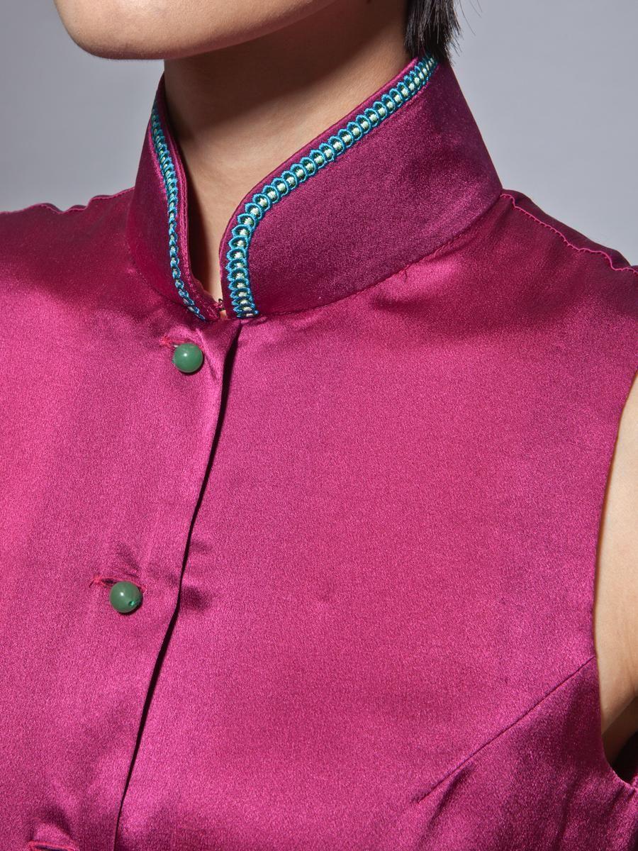 silk blouse <3