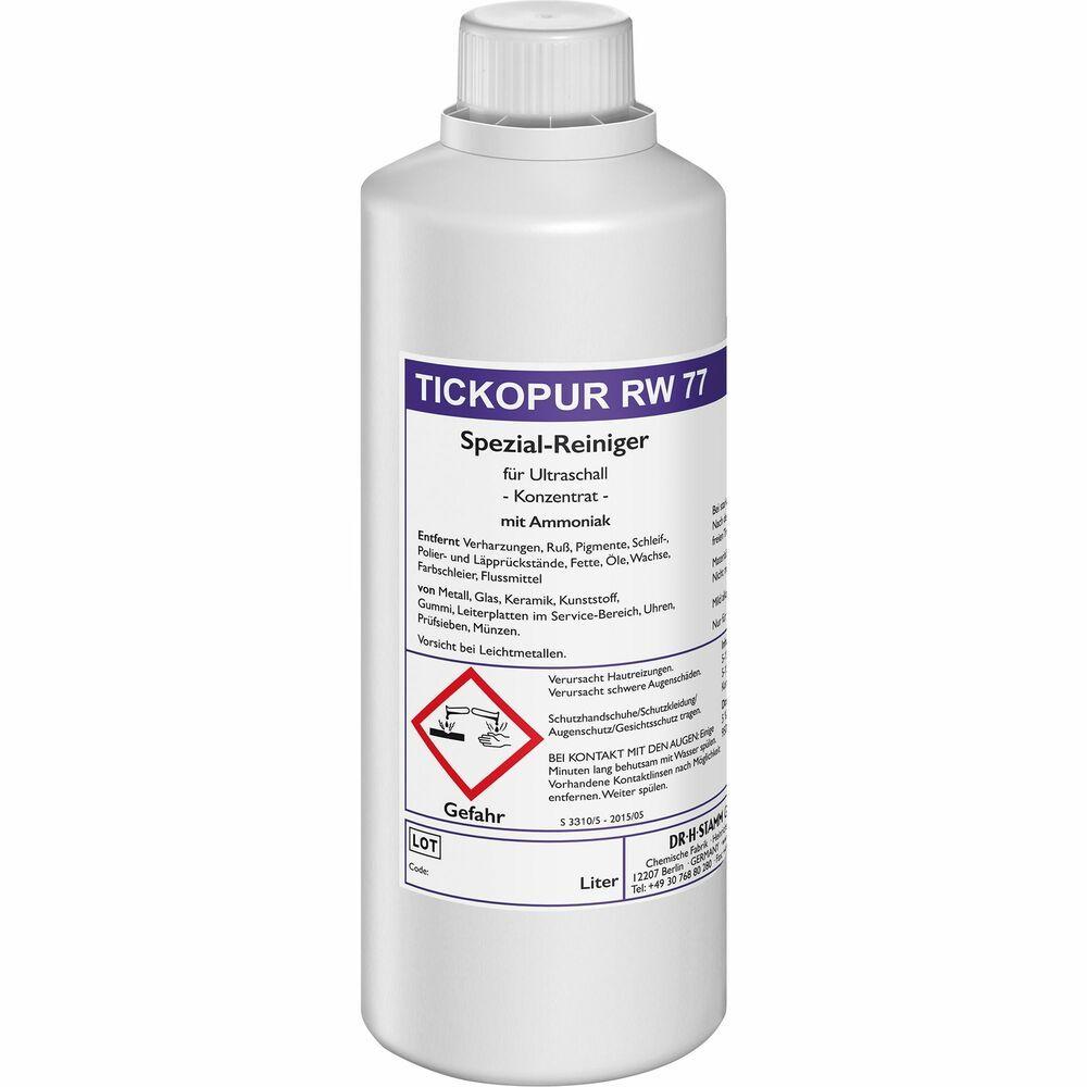 Tickopur Rw 77 Flasche 1 Liter Flaschen Wasserflasche Und