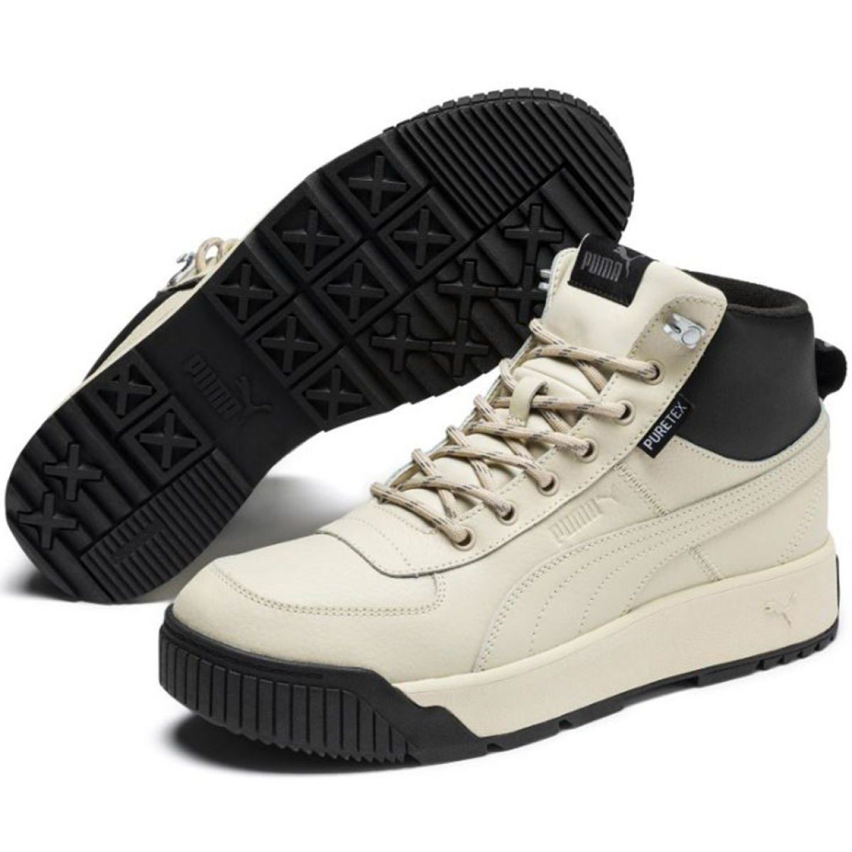 Buty Puma Tarrenz Sb Puretex M 370552 03 Bezowy Sport Shoes Men Mid Boots Puma Sneaker