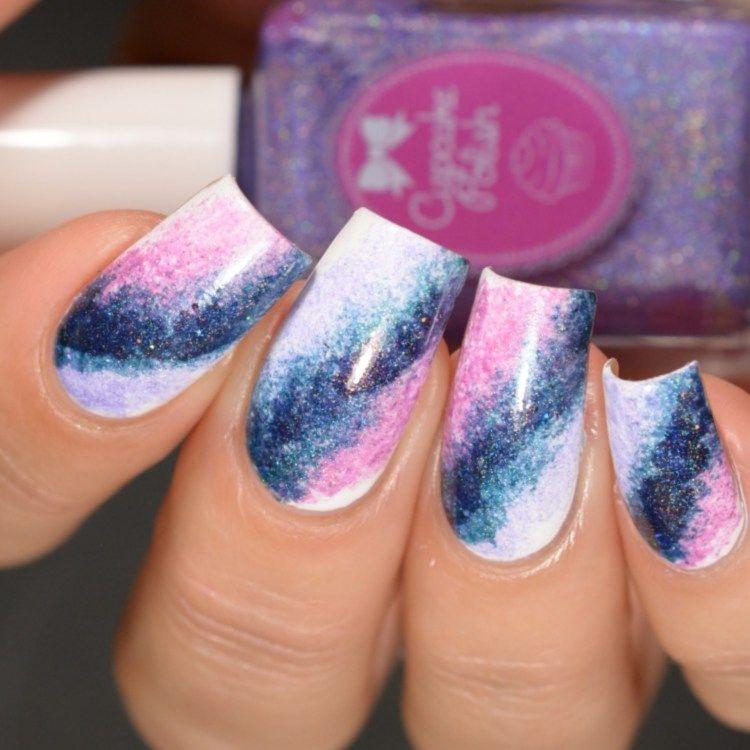 The Holo Hookup November 2017 Galaxy | Galaxy nail art, Galaxy nail ...