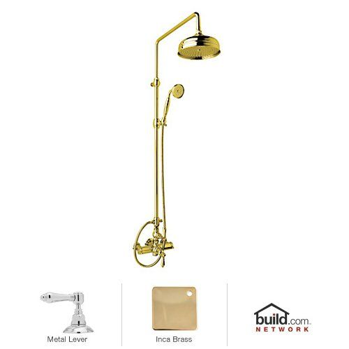view the rohl akit49171lm country bath shower system with exposed valve shower head
