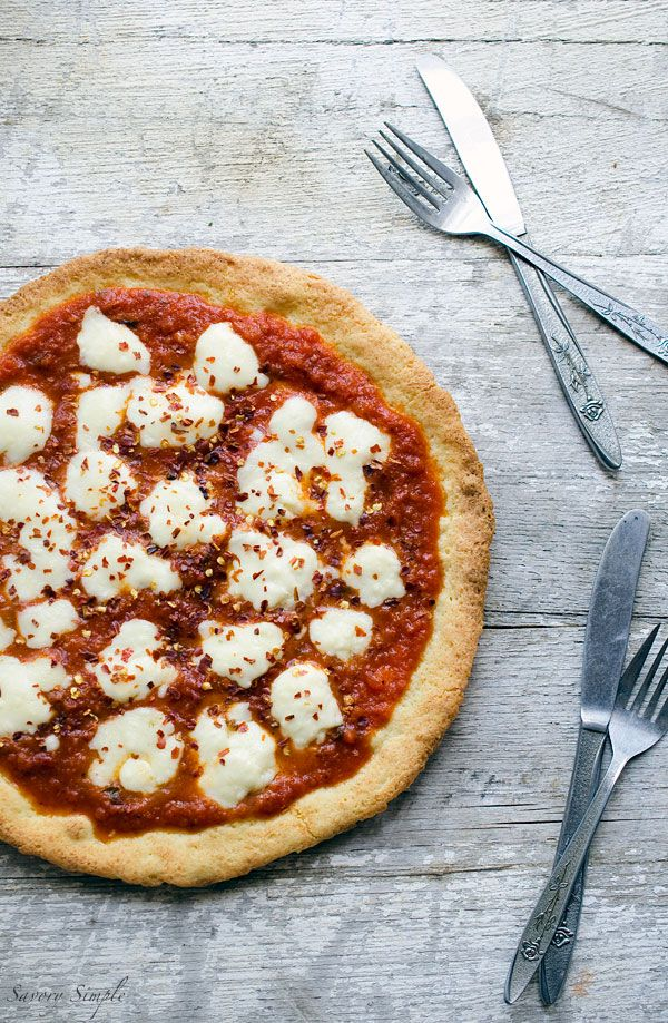 Grain-Free Paleo Pizza Crust - Savory Simple