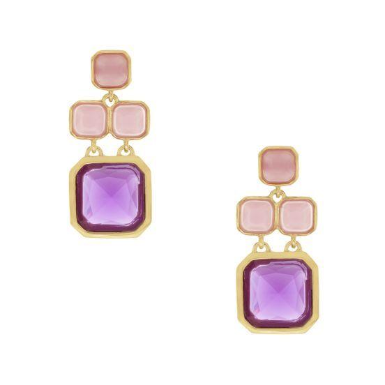 kate spade | frame of mind chandelier earrings  please oh please