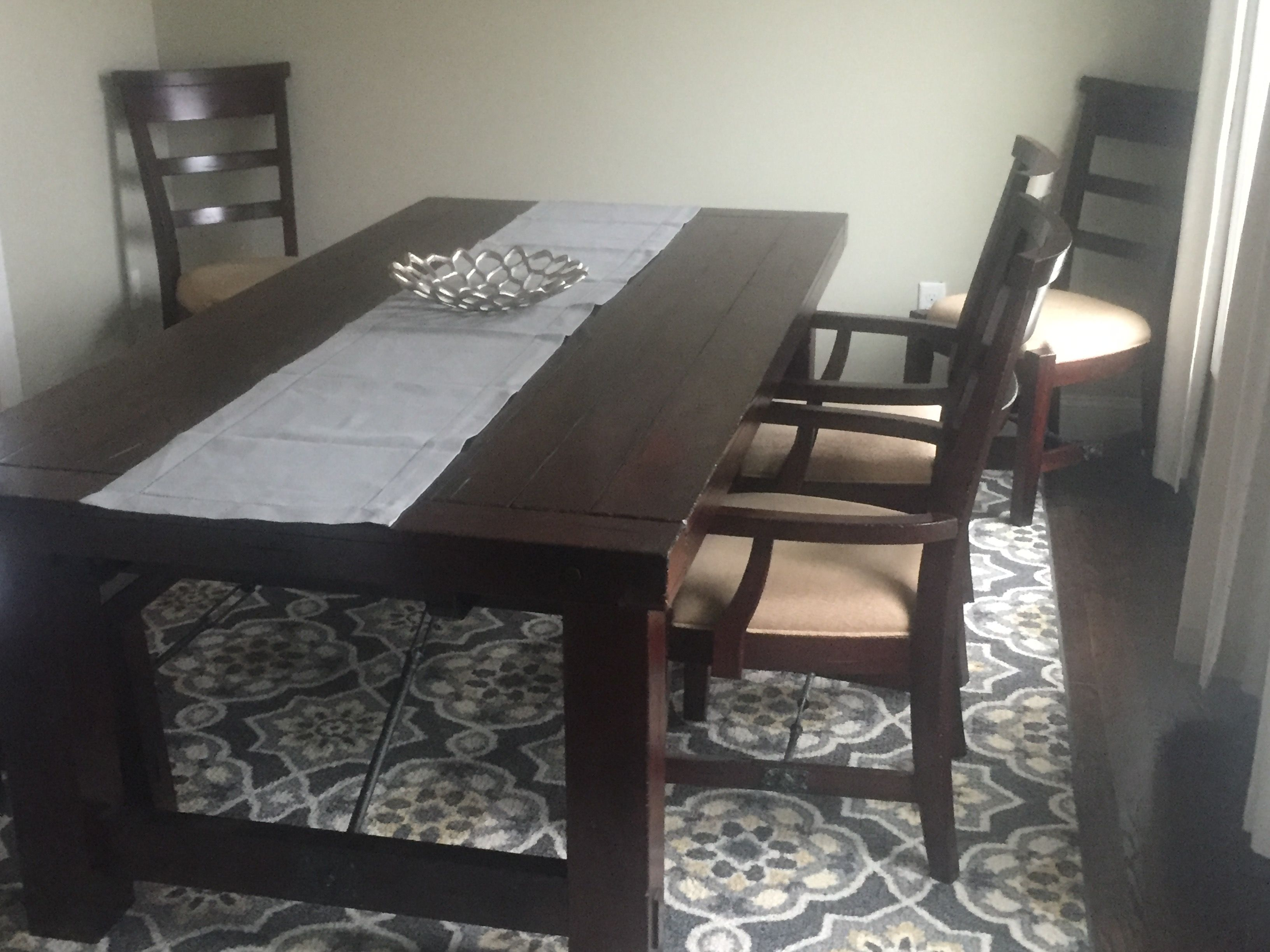 Room · Our U201cchunkyu201d Dining Room Table ...