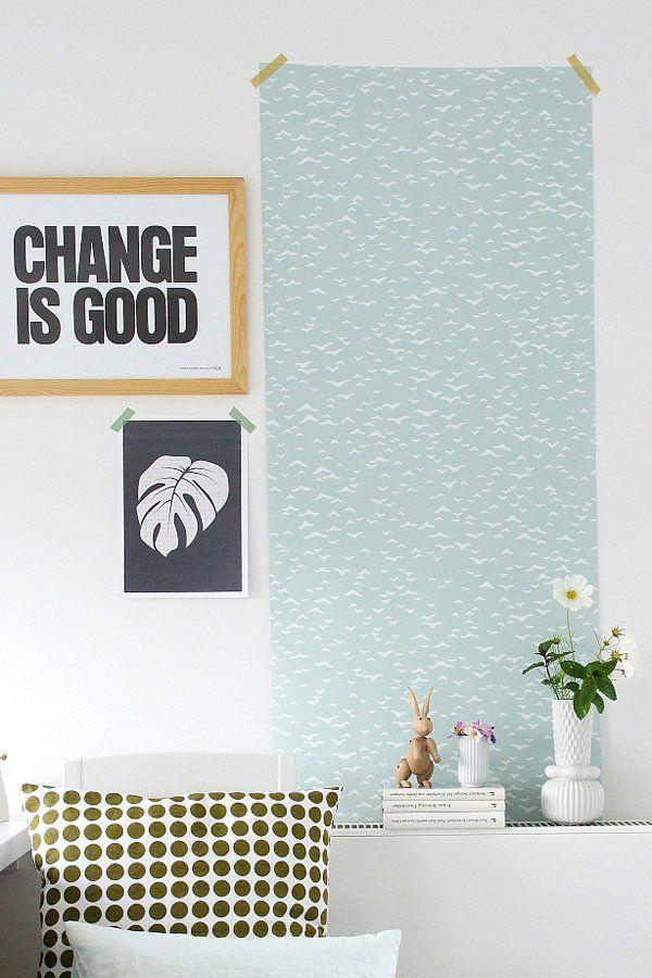 Yli Tuhat Ideaa Tapezieren Selber Machen Pinterestissä Shabby   Decke  Tapezieren Rauhfaser