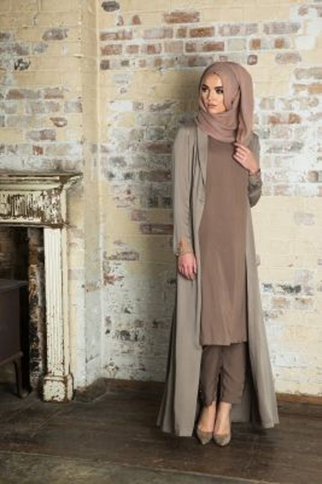 95f2b670804f15 Looks De Hijab14 | 3abaya jilbab Robes in 2019 | Mode hijab, Mode ...