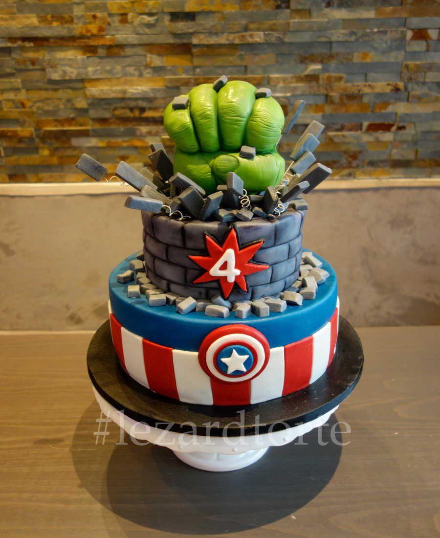 Marvel Torte