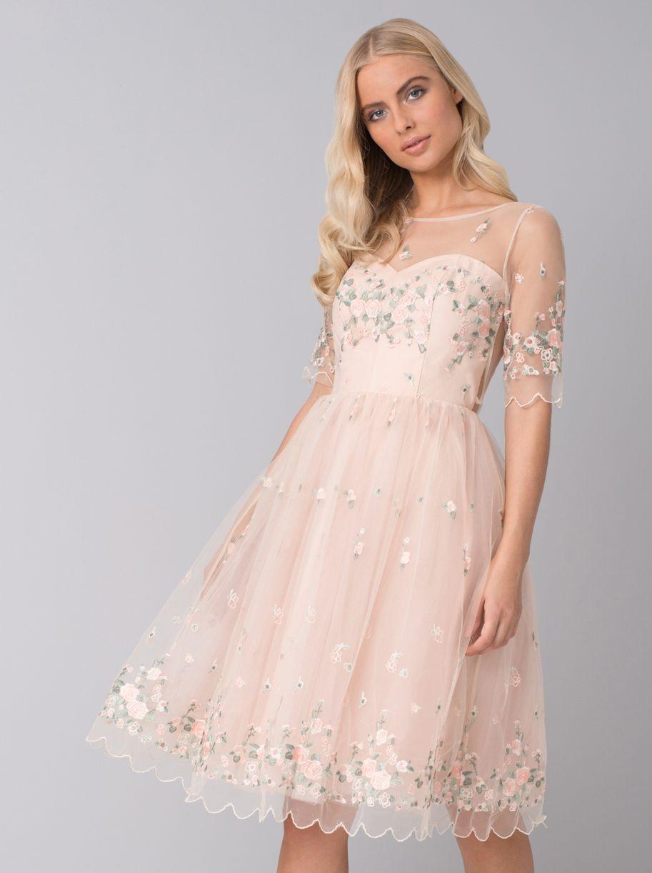 Chi Chi Anais Dress Confirmation Dresses Beautiful Maxi Dresses Embroidered Midi Dress