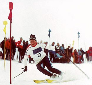 Jean-Claude Killy (born 30 August 1943, Saint-Cloud, Hauts-de-Seine, France) was an alpine ski racer, who dominated the sport in the late 1960s. He was a triple Olympic champion, winning the three alpine events at the 1968 Winter Olympics, becoming the most successful athlete there. He also won two World Cup titles, in (1967 and 1968).