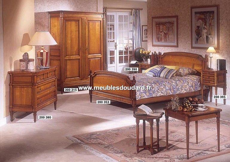 chambre coucher louis xvi merisier meubles de style