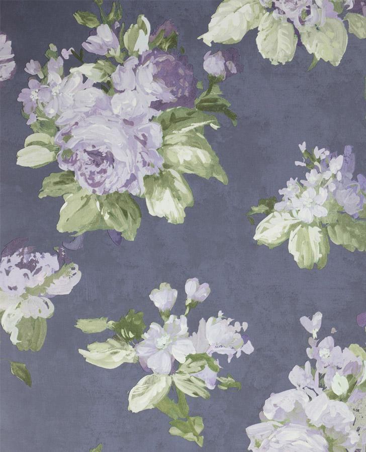 Violetta Iris Wallpaper Purple Background Girly Wallpaper