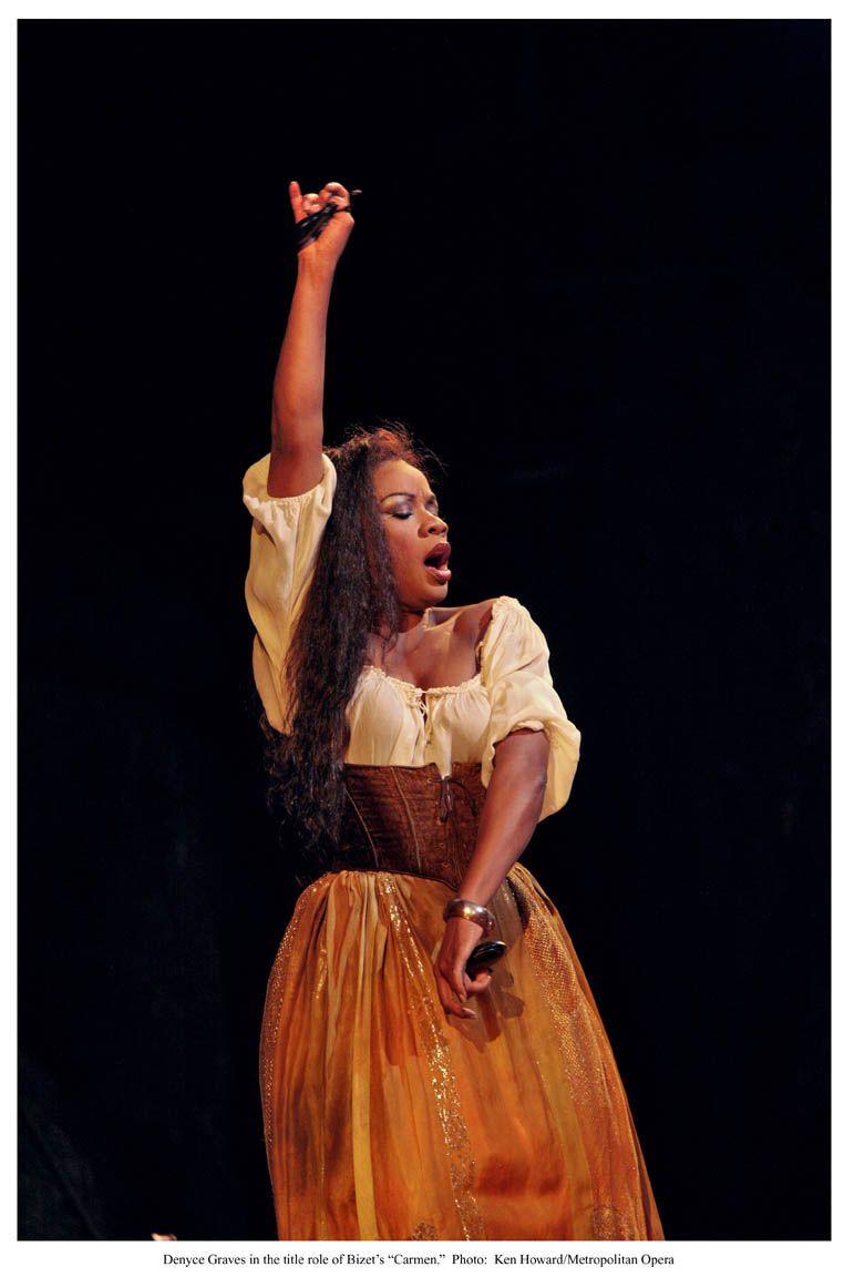 Denyce Graves As Carmen La Mejor Musica Clasica Cantantes De Opera ópera