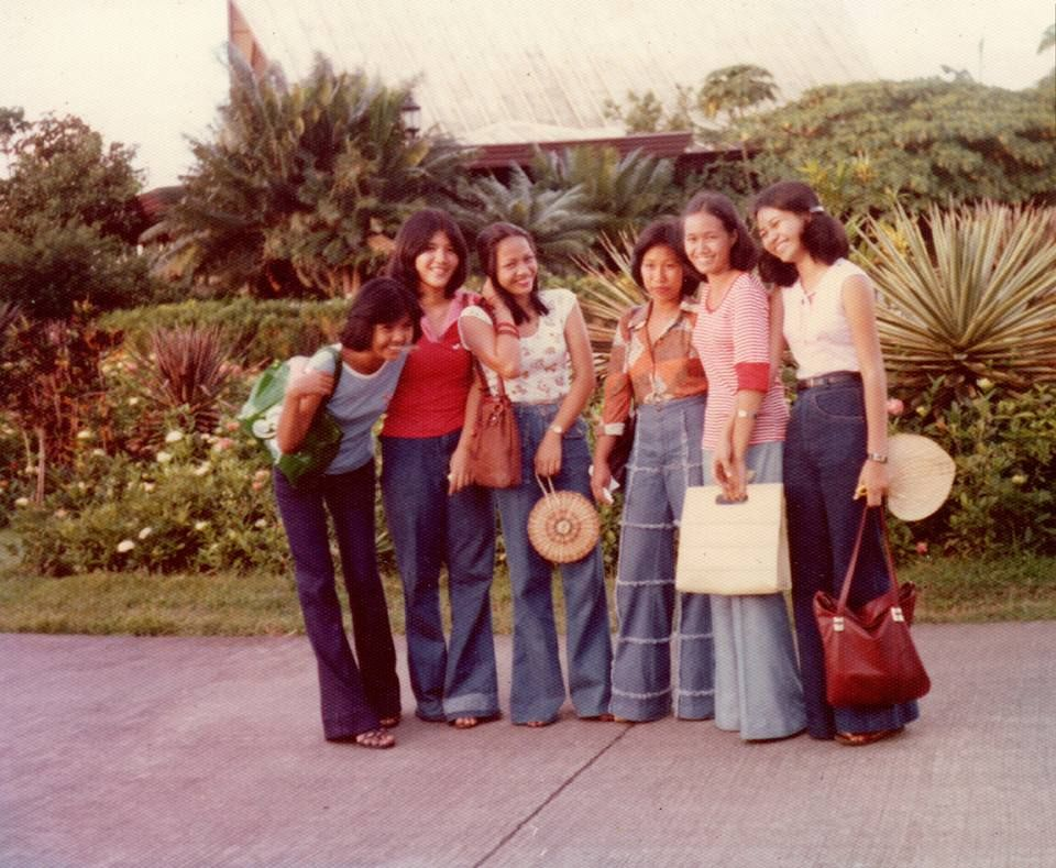Beautiful Filipina. Circa 1970s by Elenita Mabanglo ...