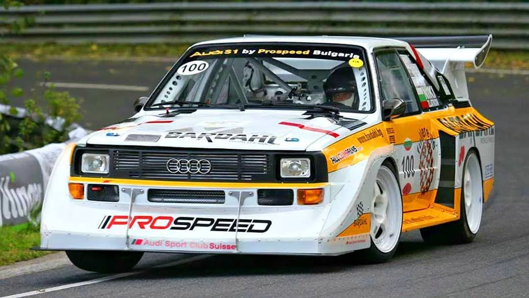 This Audi Quattro S1 Group B with 770hp couldn't have used