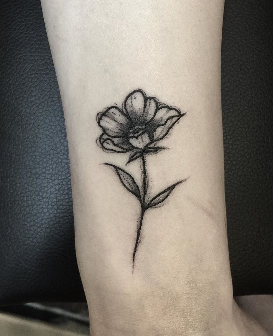 Small Flower Hình xăm, Xăm, Hình xăm nhỏ