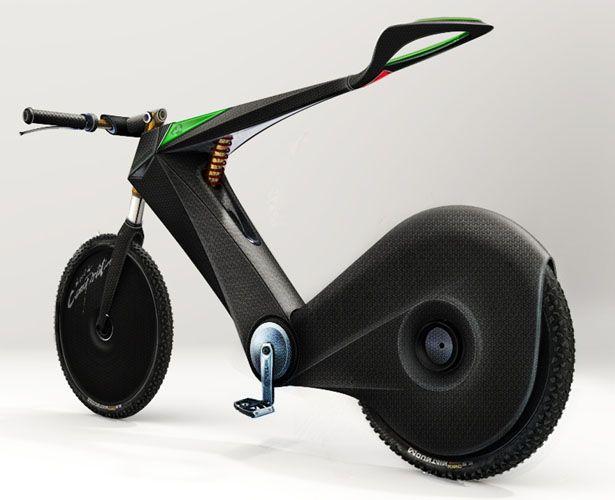 Hydro Bike : Sporty Hydrogen Powered Bike Design