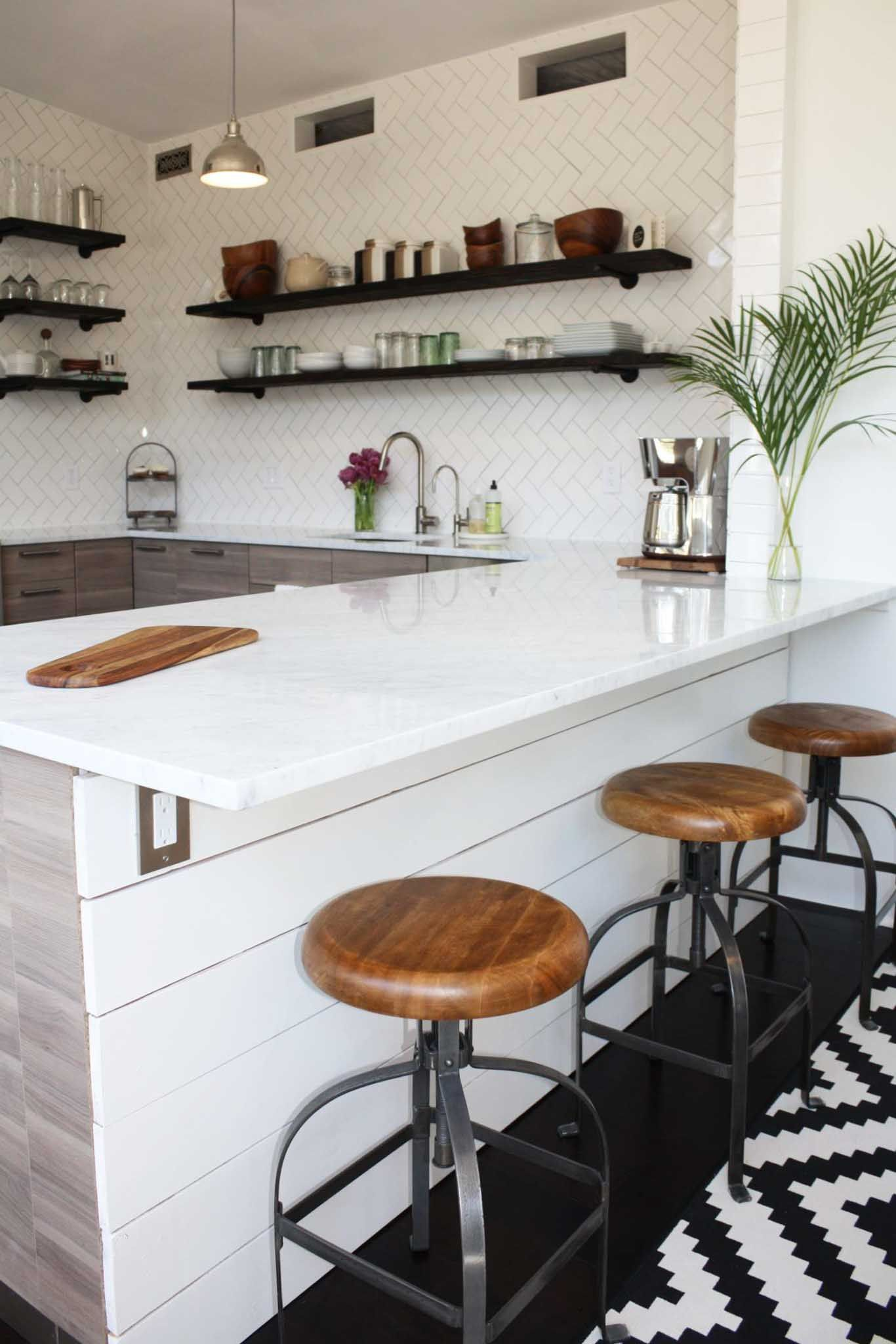 small galley kitchen remodel before and after (8) | Budget ...