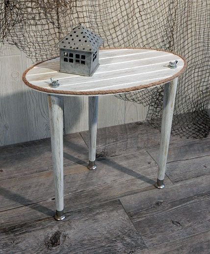 Weathered Wood Table - Cottage Table - Small Porch Table ...