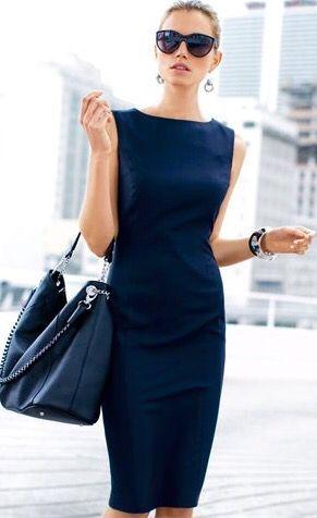 Vestidos Para Trabalhar Em Escrit 243 Rio Dicas E Looks Para O Trabalho Fashion Style Stylish