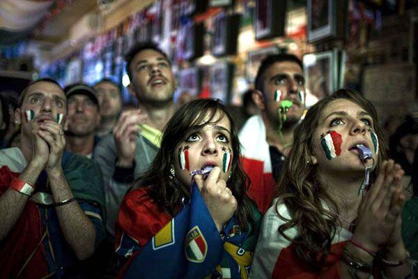 Football Fans, London 2010    Stuart Matthews