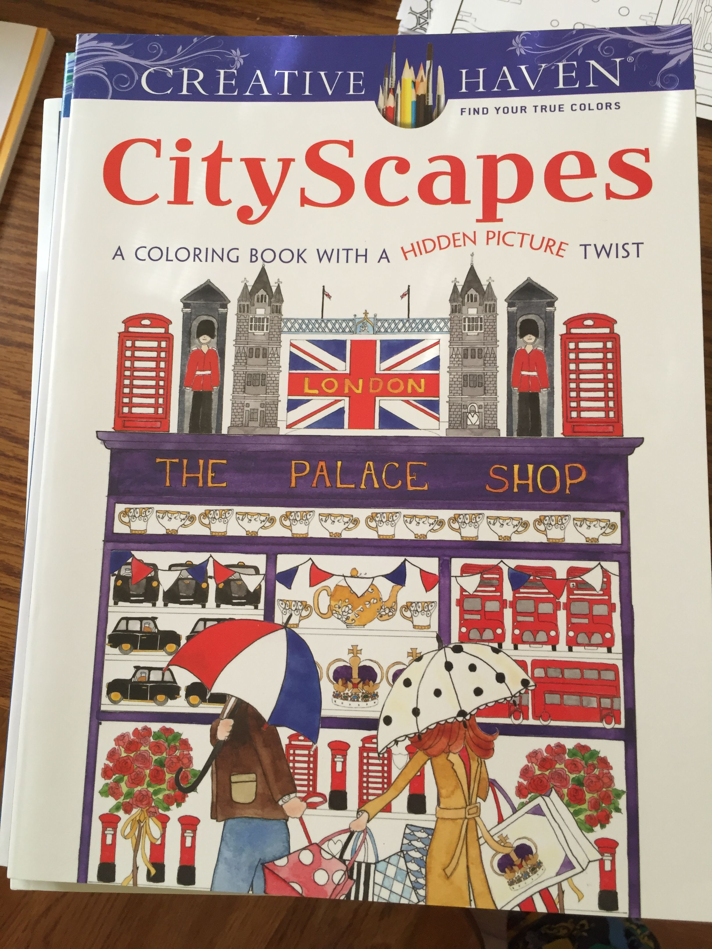 Pin By Heather Marie Wall On Coloring Books And Books I Own Coloring Books Cityscape Book Art