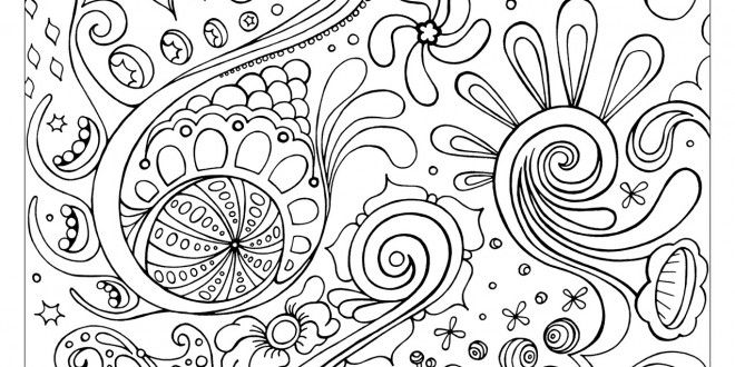Pattern Coloring Pages Free Printable Enjoy Coloring Abstract