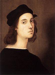 Raphael 1483 – 1520 . self-portrait.