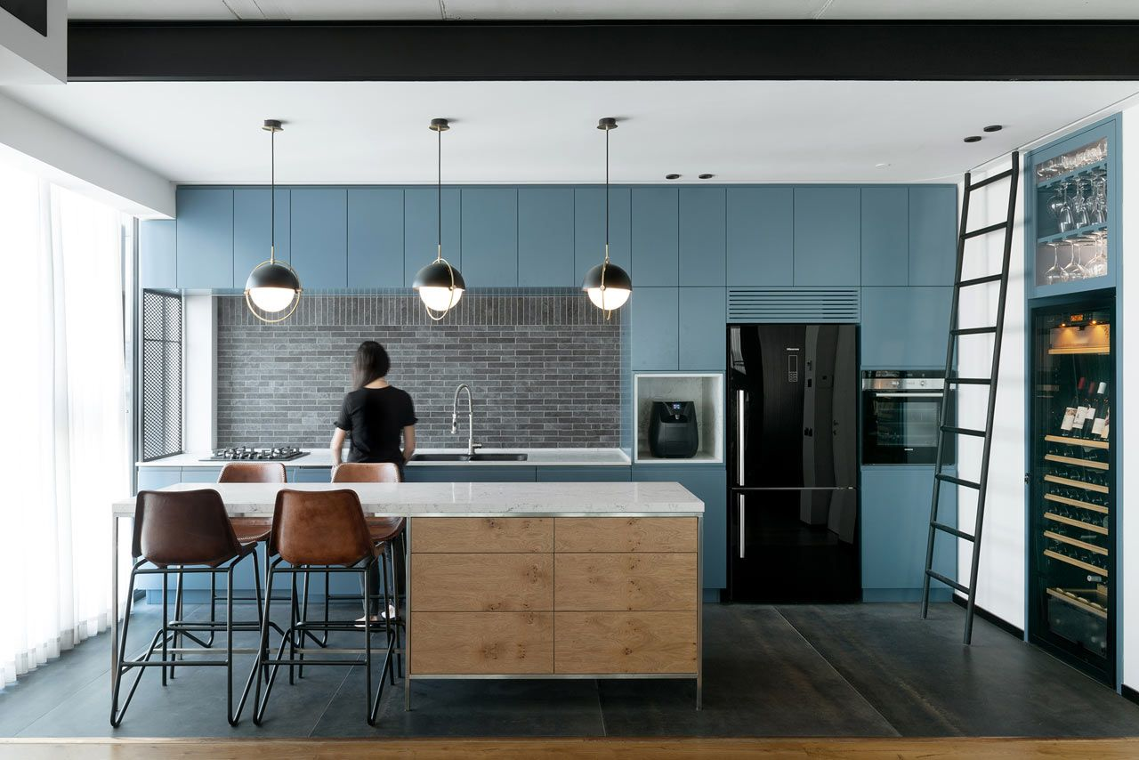 Tower Apt. No1 in Tel Aviv by RUST architects