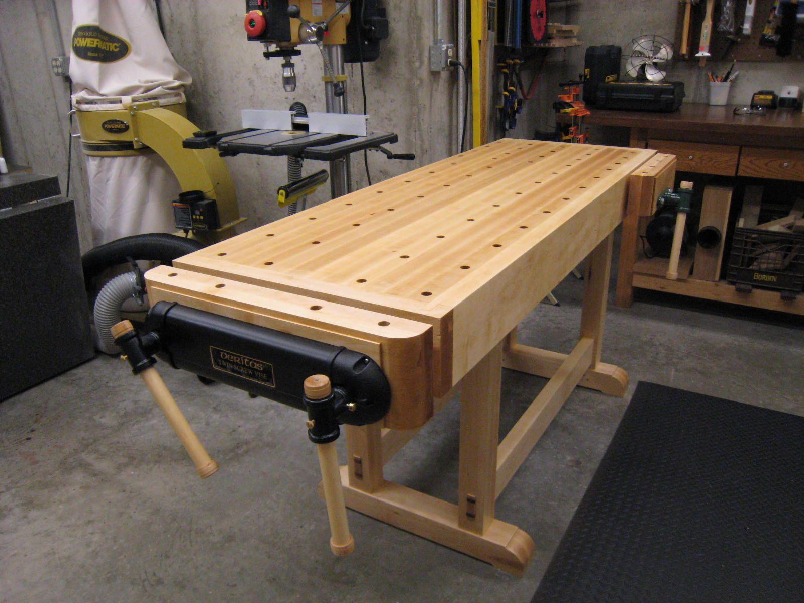 Essential Workbench Reader S Gallery Fine Woodworking