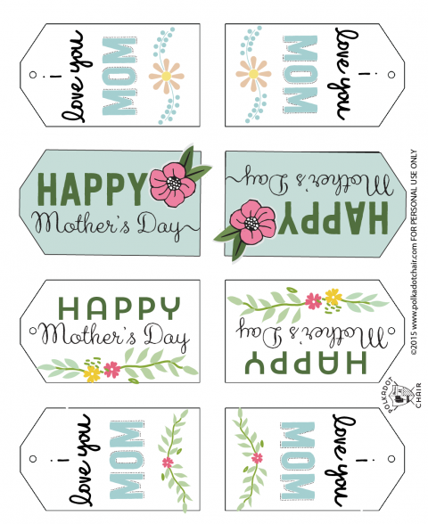 image relating to Free Printable Mothers Day Tags named Moms Working day Mason Jar Reward Recommendations and totally free printable tags