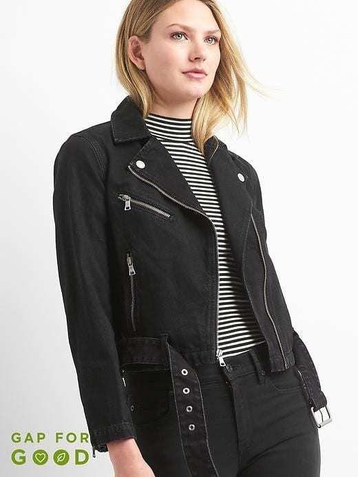 superior performance top fashion top-rated professional Gap Denim moto jacket | Products | Gap denim jacket, Jackets ...