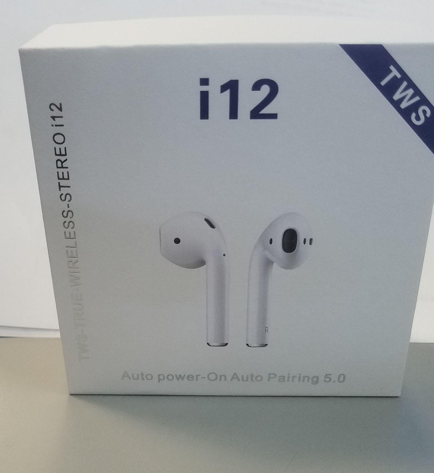 Airpods i12 TWS style earbuds Headphone Mercari in 2020