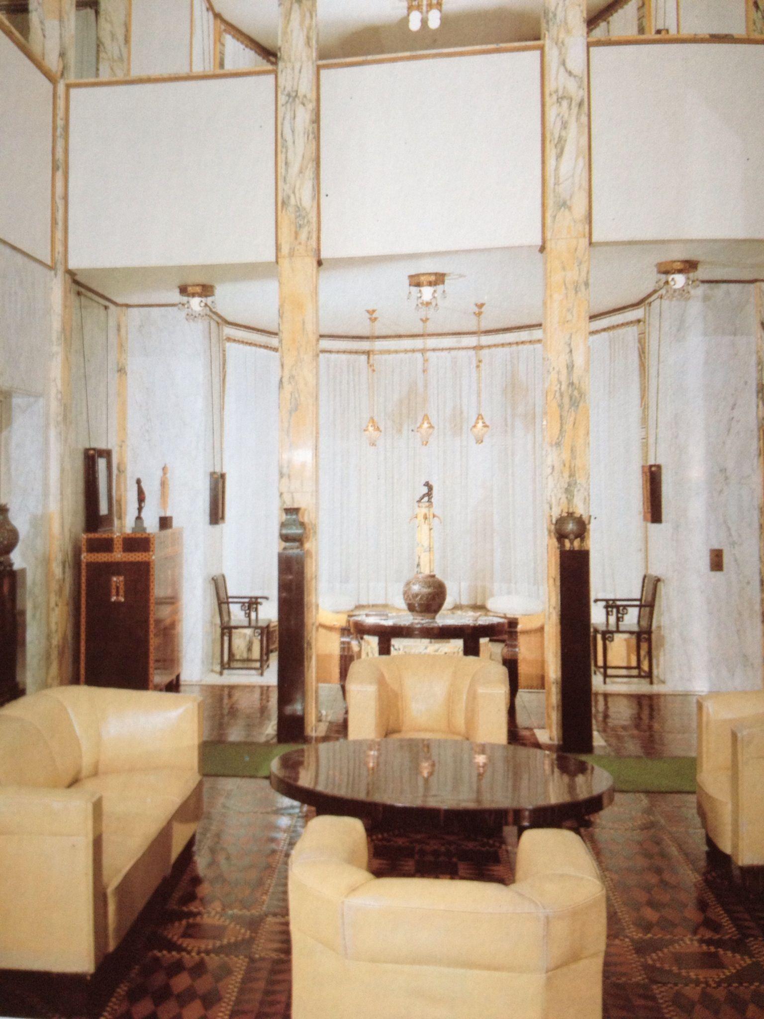 Palais Stoclet Art Deco Room