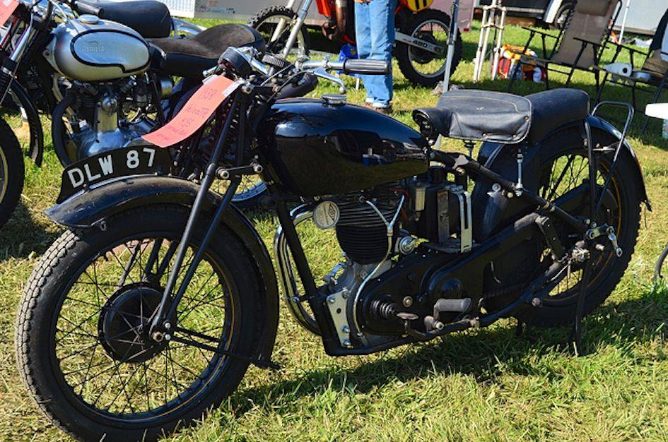 1938 The Velocette KSS 348cc OHC Singe Air Cooled Engine