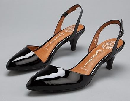 Low Kitten Heel Pumps