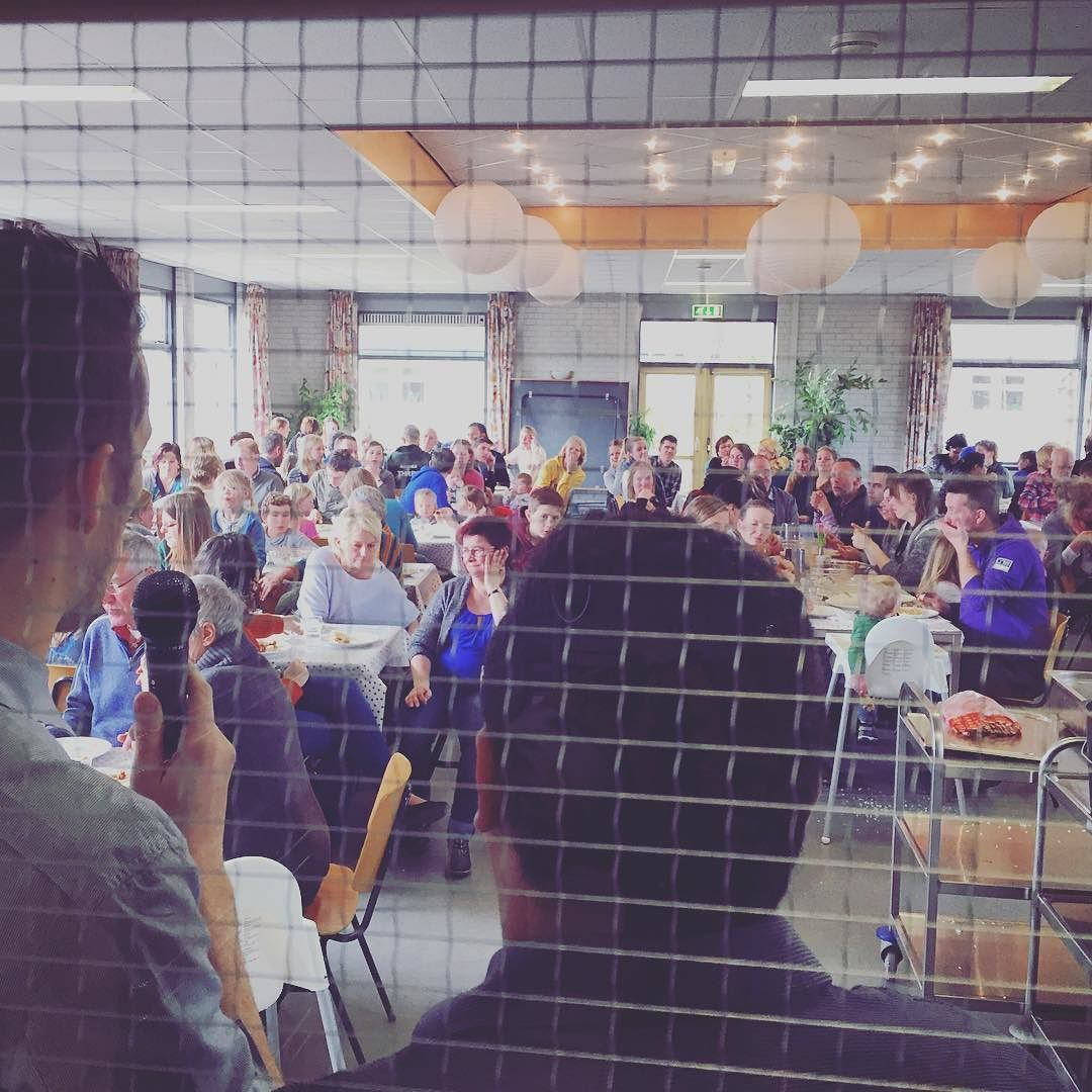 On wednesday we have our community meal at the base. Today we served 160 meals! A great time of fellowship together. #ywamheidebeek #ywam by ywam_heidebeek http://bit.ly/dtskyiv #ywamkyiv #ywam #mission #missiontrip #outreach