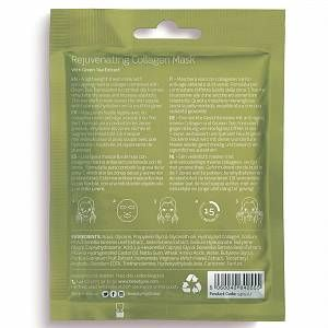 Photo of BeautyPro Rejuvenating Collagen Sheet Mask with Green Tea Extract