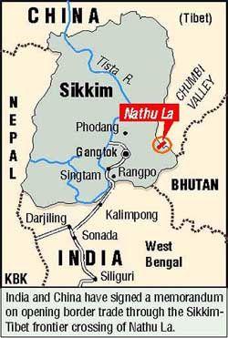 nathu la pass | GEOGRAPHY | Pinterest | India map, Geography and ...