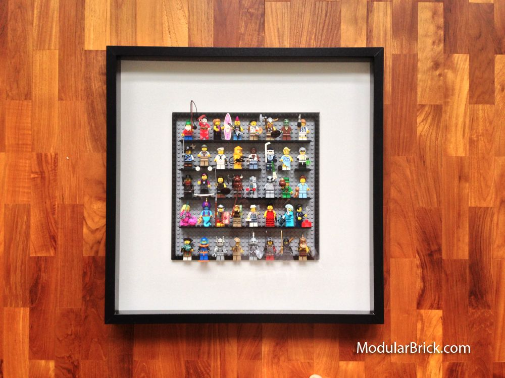 Here\'s how to use the large Ikea RIBBA frame (50xm 50xm) and a 48x48 ...