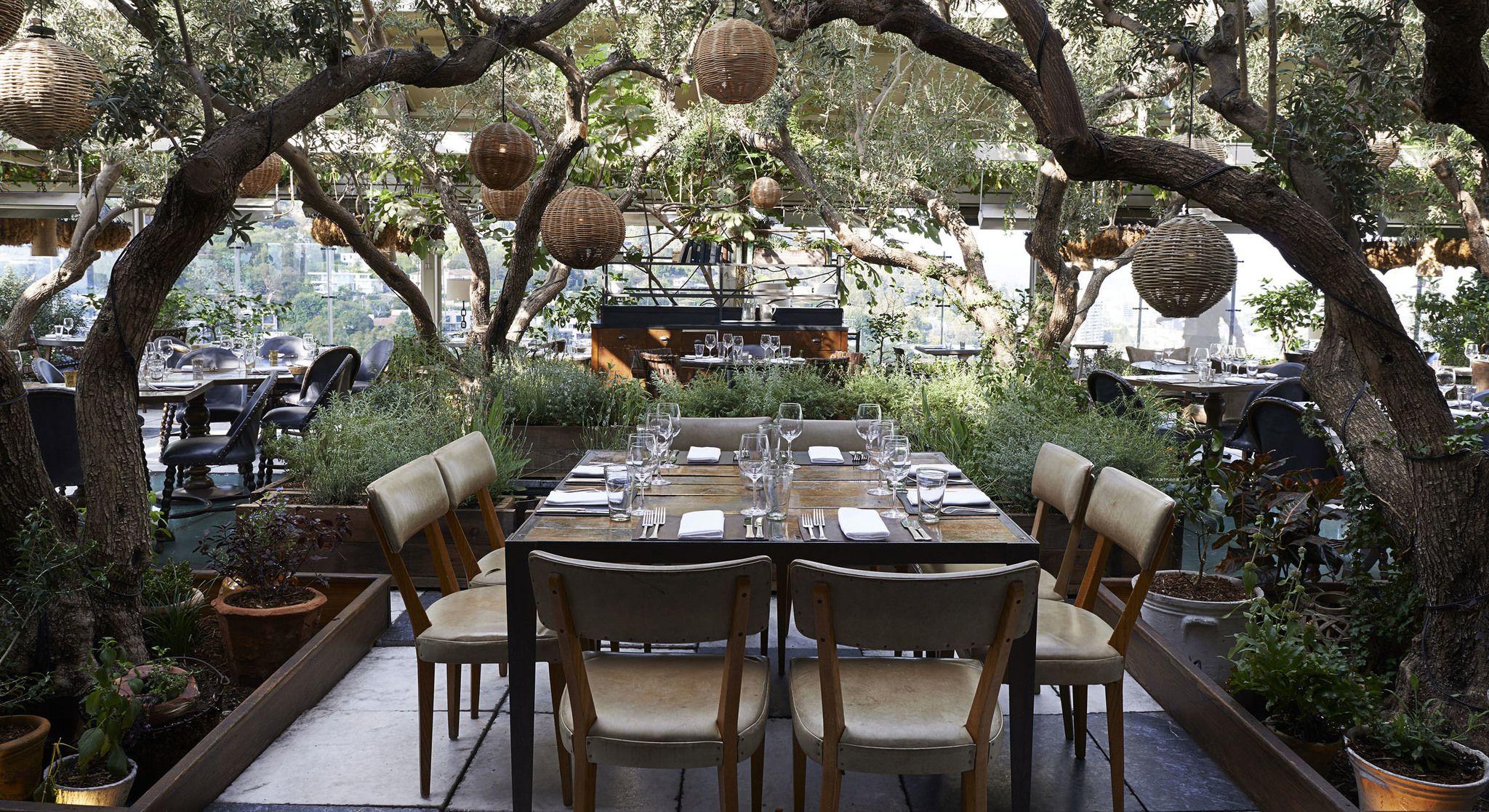 Soho House West Hollywood Restaurant Los Angeles