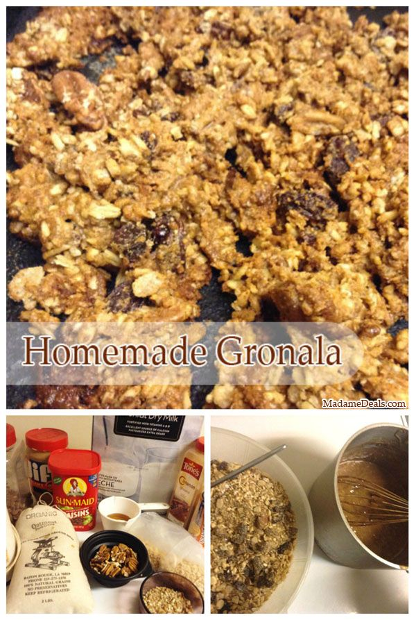 Kid cereal and oatmeal recipes homemade granola madame deals inc kid cereal and oatmeal recipes homemade granola madame deals inc ccuart Images