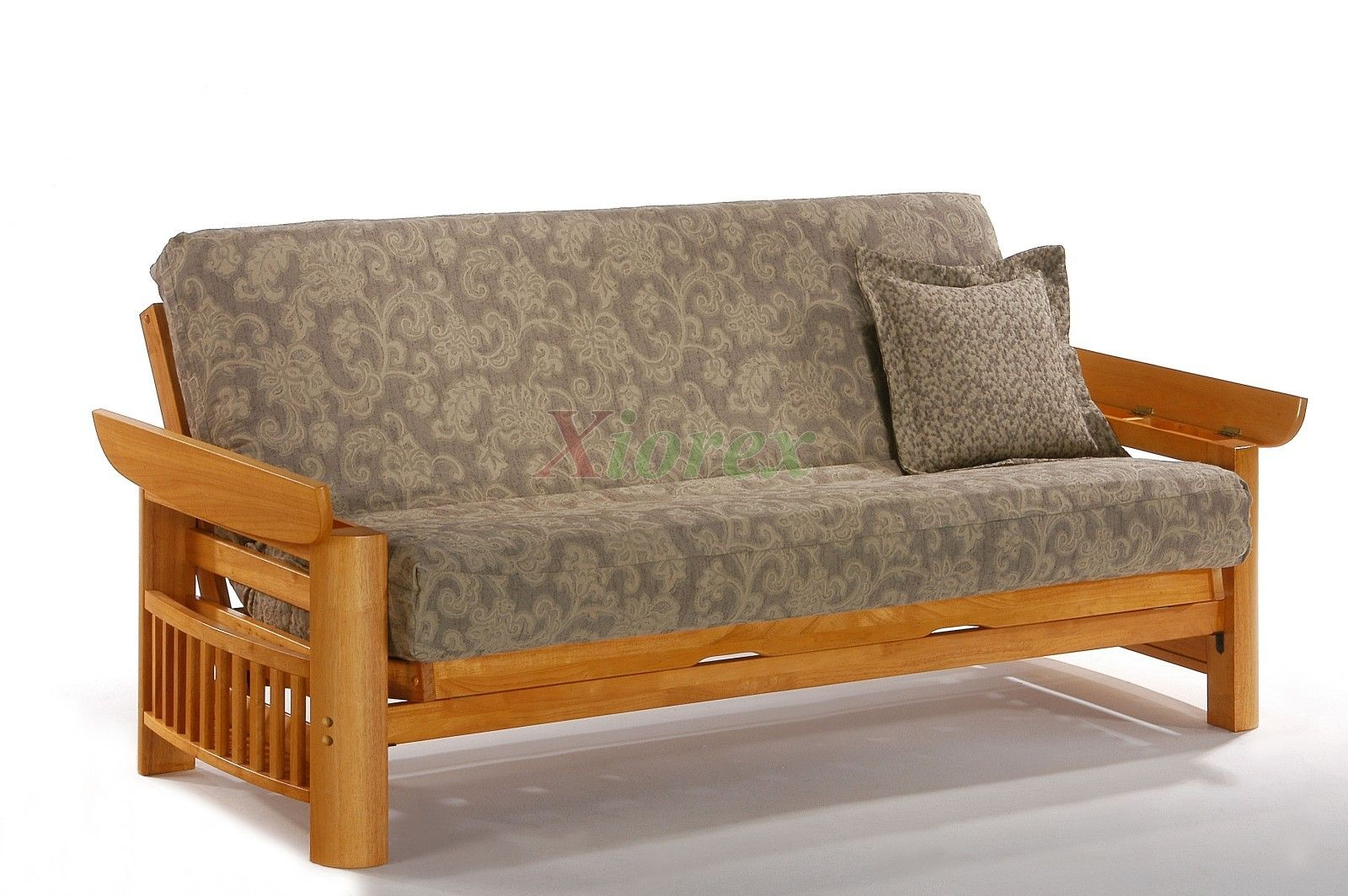 Futon Sofabed Night and Day Portofino Futon Honey Oak