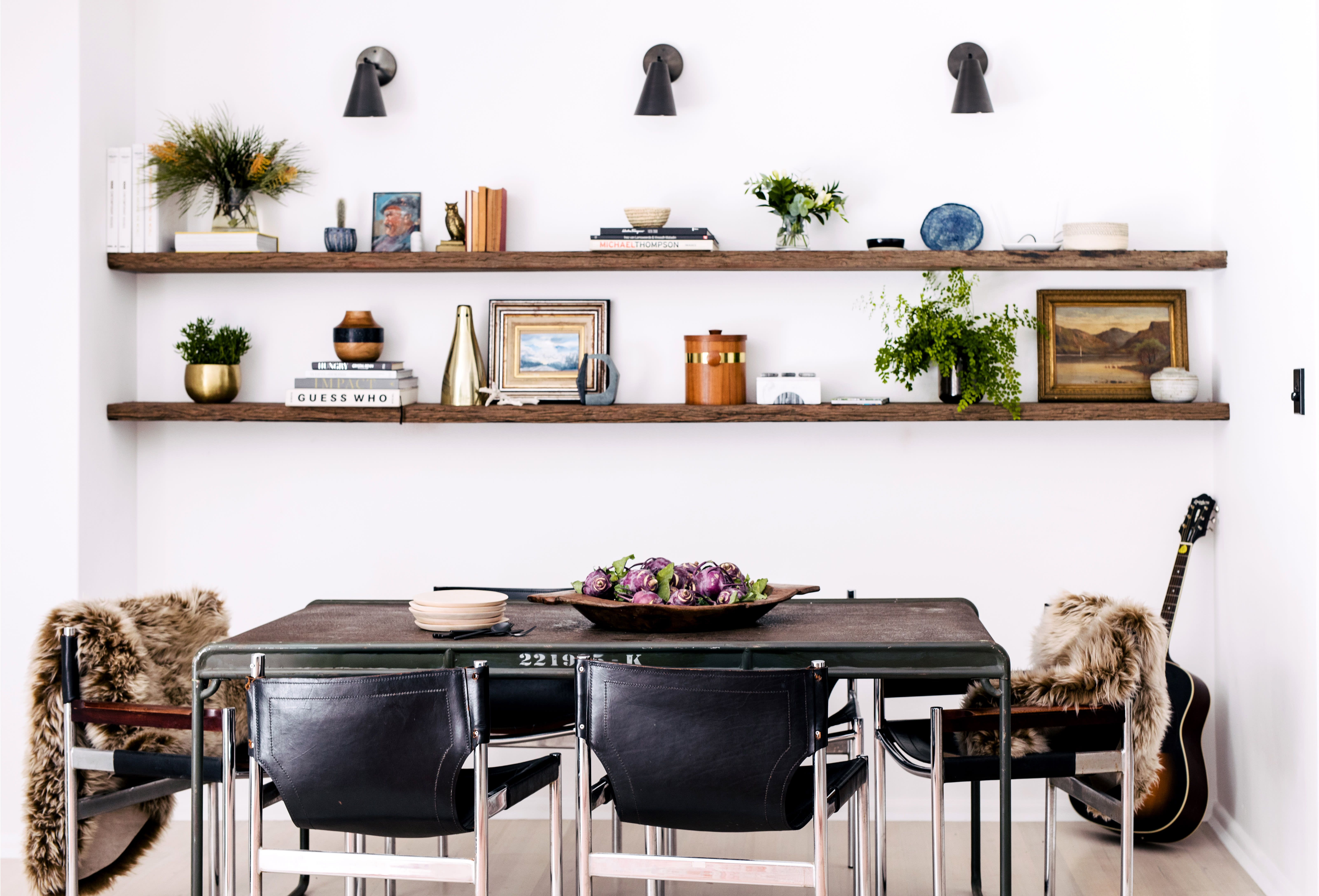 Inside A Colorful Bohemian Bachelor Pad In Sydney Dining Room