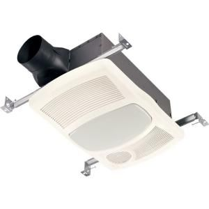 Nutone 100 Cfm Ceiling Directionally Adjustable Bathroom Exhaust Fan With Light And 1500 Watt Heater 765hfl Bath Fan Bath Exhaust Fan Ventilation Fan