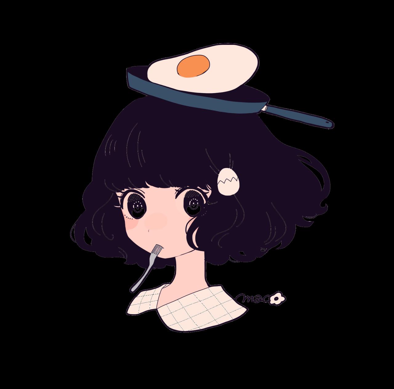 Egg head Aesthetic anime, Cute art, Anime art