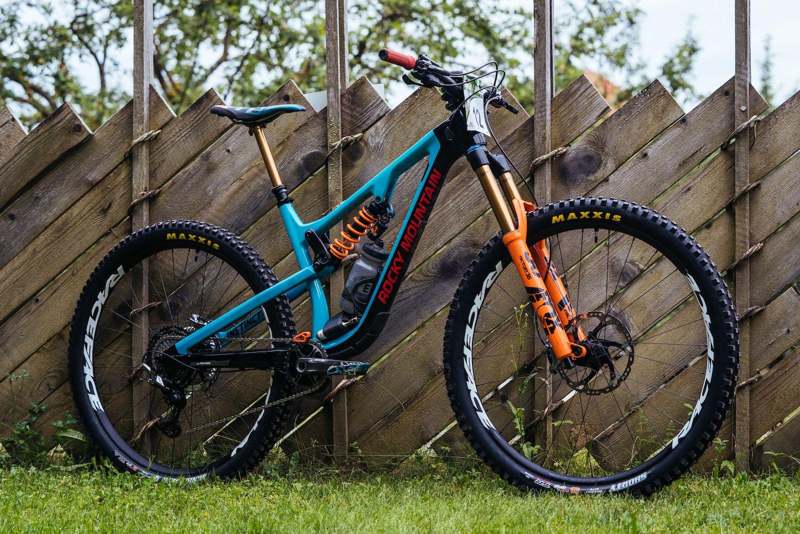 Jesse Melamed Rocky Mountain Instinct Ews 2018 Mountain Bike