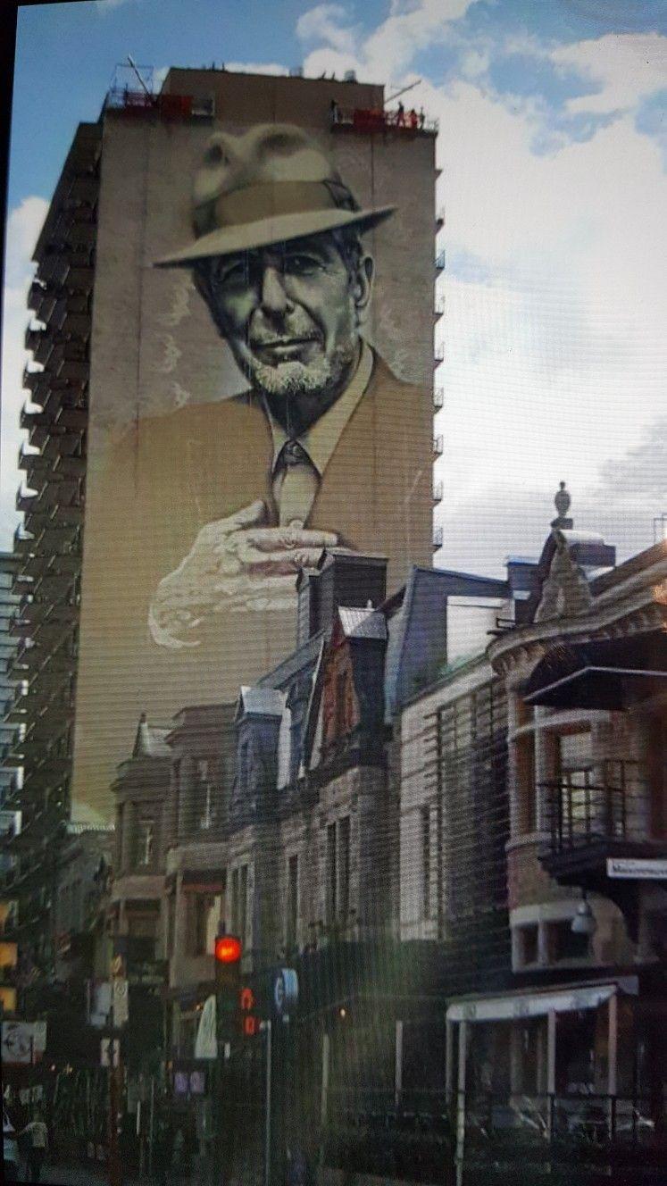 Mural From 2017 In Montreal Mateo Street Art Pinterest Leonard