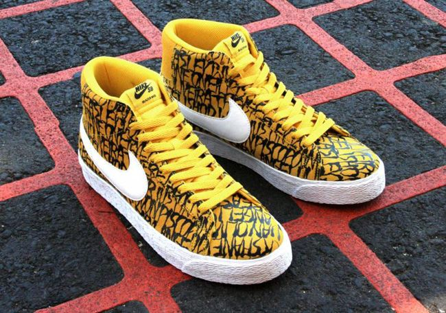 """low priced 1d3be ad158 ... Neckface x Nike SB Blazer """"The Chronicles†..."""