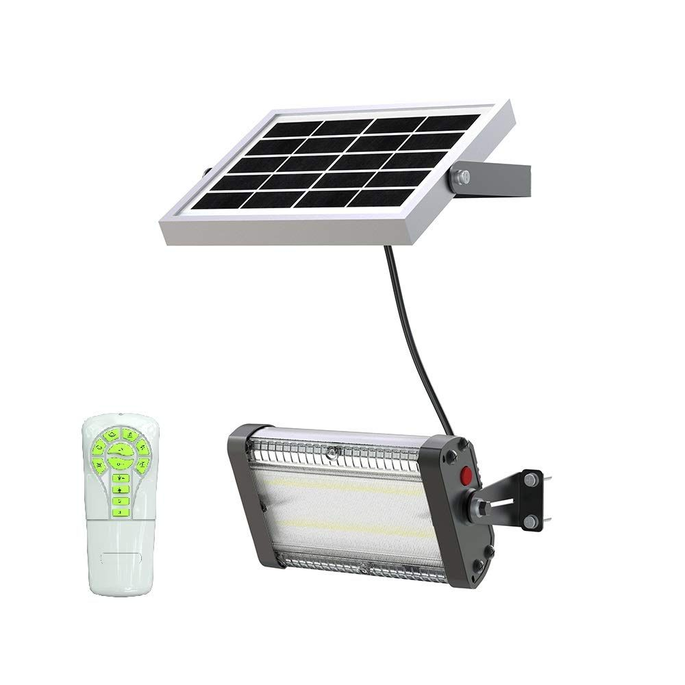 Solar Led Barn Light 4 000mah Li Ion Battery For Outdoor Indoor Flood Light With Remote Control 1 000 Lumen By Spc You Can Fi In 2020 Barn Lighting Solar Led Indoor Solar Lights