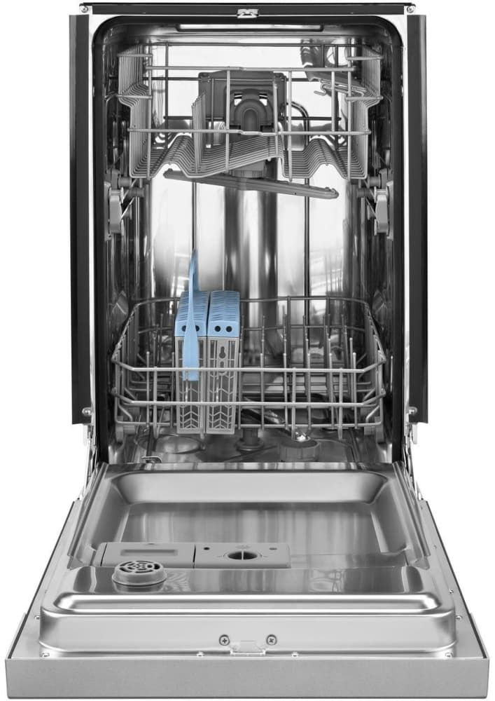 Whirlpool Udt518safp 17 1 2 Inch Built In Panel Ready Dishwasher With Split Fit Silverware Basket Delay Wash Heated Dry Stainless Steel Interior Panel Re Steel Tub Built In Dishwasher Top Control Dishwasher
